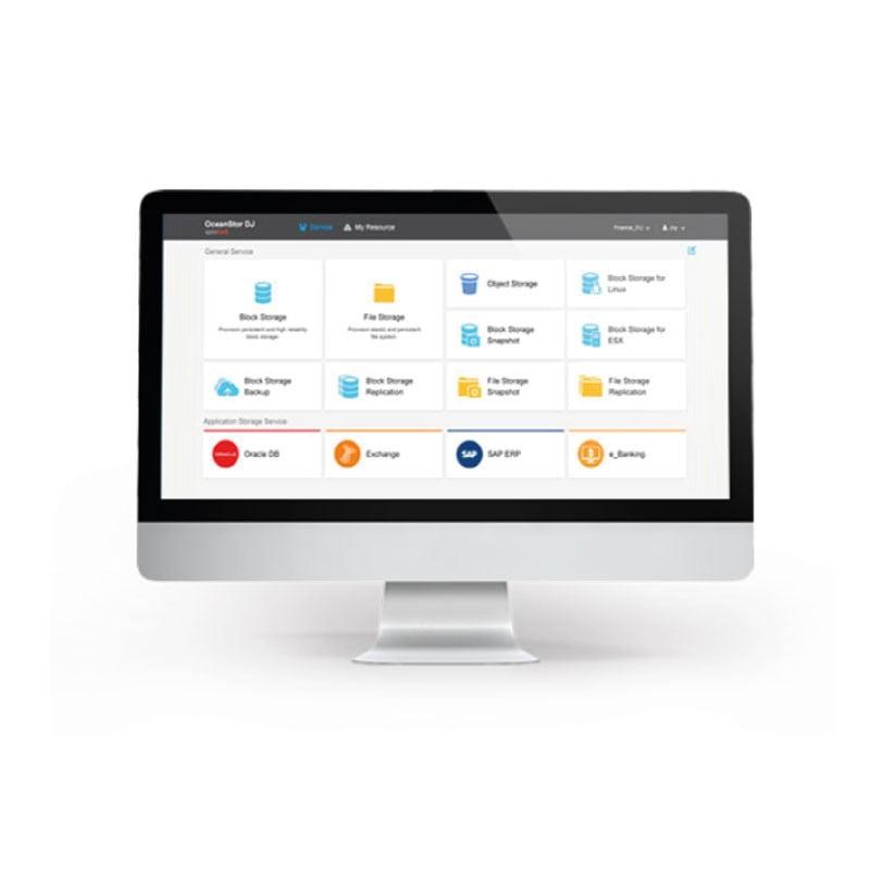 Huawei OceanStor DJ – w pełni zautomatyzowany system zarządzania pamięcią masową